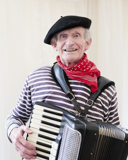 St Albans mourned the Accordion Man Paddy Delaney.