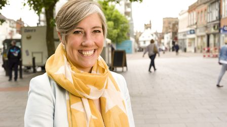 Liberal Democrat Daisy Cooper became the new MP for St Albans. Picture: Supplied