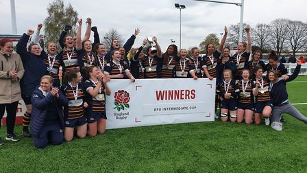 OA Saints won the Women's Intermediate Cup in a hugely successful 2019. Picture: EMMA COOKE
