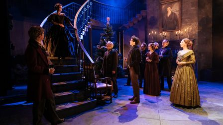 The cast of My Cousin Rachel, which can be seen at Cambridge Arts Theatre. Picture: Manuel Harlan