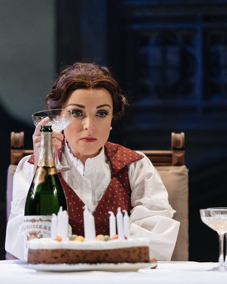 Helen George stars in My Cousin Rachel, which can be seen at Cambridge Arts Theatre. Picture: Manuel