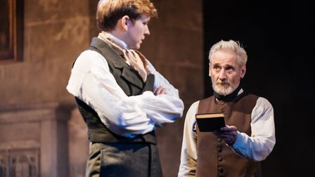 Jack Holden and Sean Murray in My Cousin Rachel, which can be seen at Cambridge Arts Theatre. Pictur