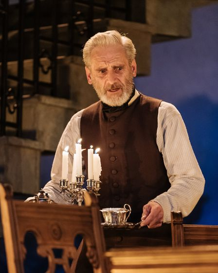 Sean Murray as John Seecombe in My Cousin Rachel, which can be seen at Cambridge Arts Theatre. Pictu