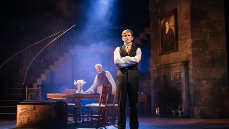 Sean Murray and Jack Holden in My Cousin Rachel, which can be seen at Cambridge Arts Theatre. Pictur