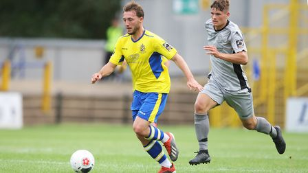 Joe Iaciofano scored twice for St Albans City in their draw at Oxford City. Picture: KARYN HADDON