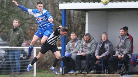 Colney Heath beat London Colney 2-0 when the sides last met in February. Picture: KARYN HADDON