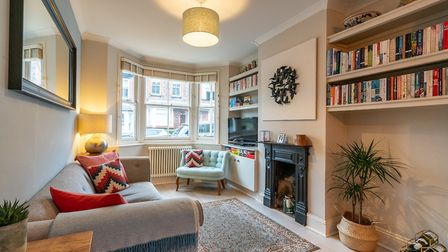 There is a bay window to the front of the property. Picture: Bradford & Howley