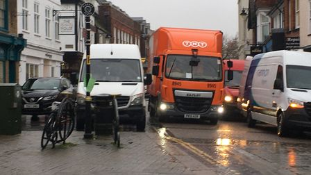 Could Market Place in St Albans be pedestrianised?