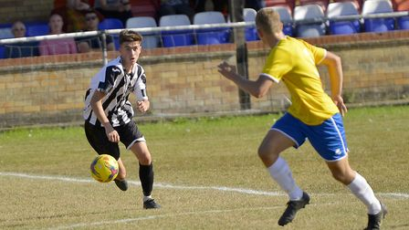 St Ives Town striker Dylan Wilson scored both of their goals in the home defeat at the hands of Lowe