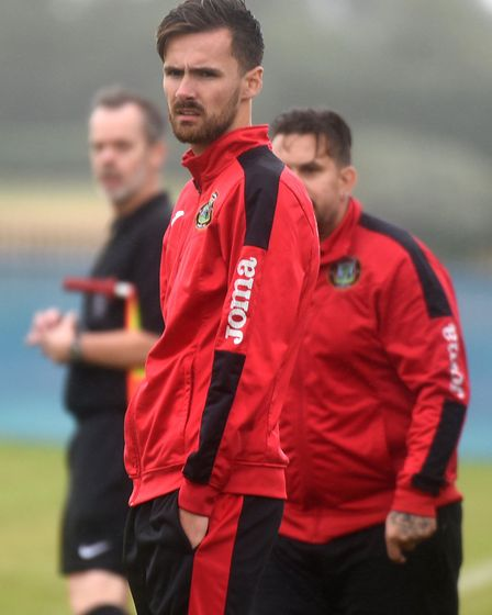 Huntingdon Town boss Alex Cook. Picture: IAN CARTER