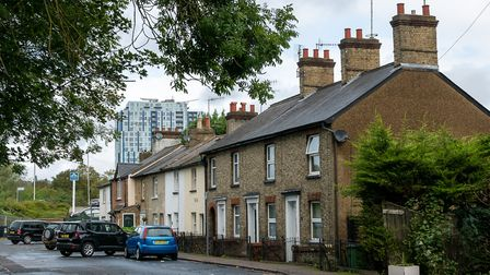 Some of Apsley's period homes. Picture: DANNY LOO