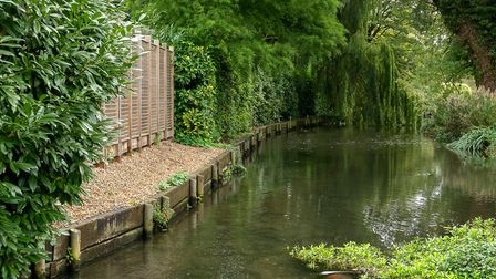 The Grand Union Canal, Apsley. Picture: DANNY LOO