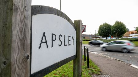 Welcome to Apsley. Picture: DANNY LOO