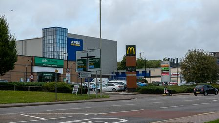 Daventry Retail Park. Picture: DANNY LOO