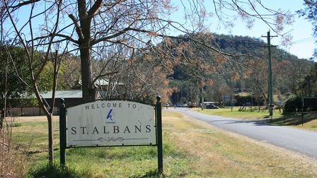 The village of St Albans in New South Wales has been affected by the Australian bushfires. Picture: