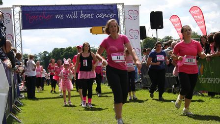 Pictures from 2012 Race for Life