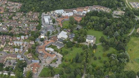 The former Papworth Hospital site.