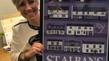 St Albans MP Daisy Cooper is campaigning to protect local pubs from the hike in business rates. Pict