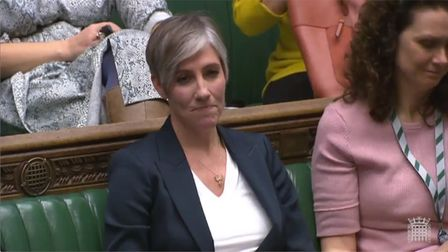 Daisy Cooper, MP for St Albans, addresses the House of Commons. Picture: Parliament Live TV