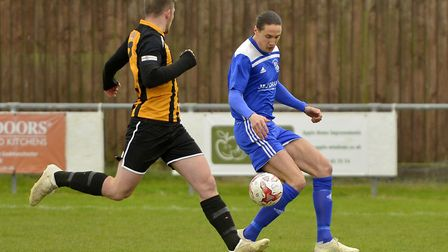Russell Bull has rejoined Godmanchester Rovers. Picture: DUNCAN LAMONT