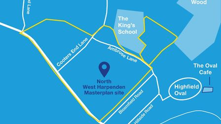 St Albans district council is inviting residents to have their say on the future of North West Harpe