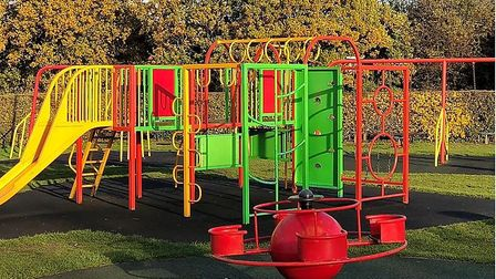 A consultation is being held on the future of Bernards Heath playground in St Albans. Picture: David