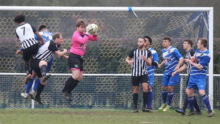 London Colney coach Jack Metcalfe was delighted with his side's win over Tring Athletic. Picture: KA