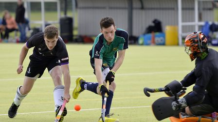 George McCarter hit a hat-trick for St Ives 1sts in their win at Dereham 2nds in the East Men's Leag