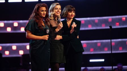 Belle Noir chose Team Olly after Olly Murs and Sir Tom Jones both turned for them during their blind