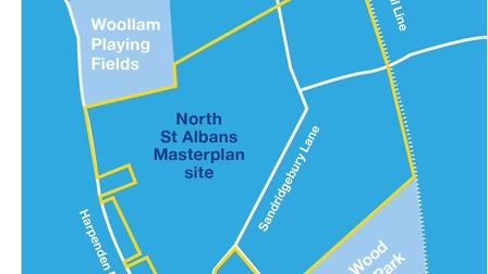 Have your say on St Albans North Masterplan at a meeting on February 1. Picture: Suppied