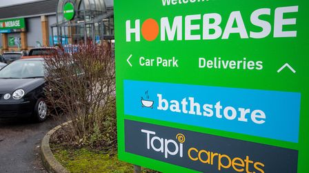 Homebase Huntingdon has been re-designed to include a new showroom