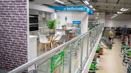 Bathstore is now located at Homebase Huntingdon