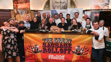 A St Albans chef is entering The Great Sausage Roll Off 2020. Picture; Supplied
