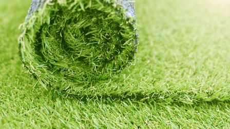 It took a dog and a daughter to bring Debbie round to the idea that fake grass was what her garden n