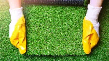 Artificial lawns are being embraced by increasing numbers of gardeners. Picture: Getty Images/iStock