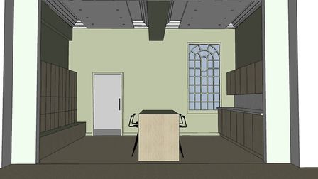 Designs for the renovations at Rothamsted Research's Russell Building in Harpenden. Picture: Rothams