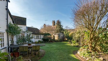 There is a delightful garden to rear with a patio area, shaped lawn and well stocked flower beds. Pi