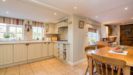 The large kitchen/breakfast room. Picture: Bradford & Howley