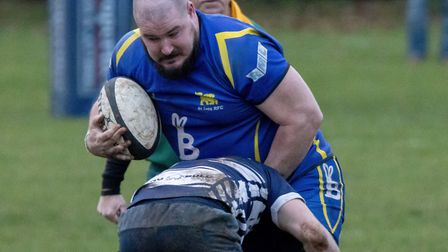 Duncan Williams scored one of the St Ives 2nds tries. Picture: PAUL COX