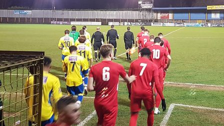 St Albans City won 2-0 against Royston Town in the Herts Senior Cup.
