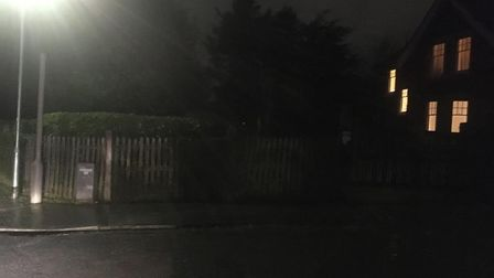 Gangs have been gathering after dark in Clarence Park, St Albans. Picture: Matt Adams