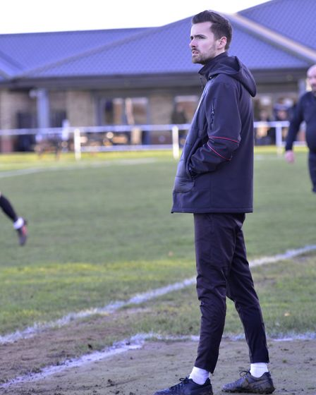 Huntingdon Town manager Alex Cook. Picture: DUNCAN LAMONT