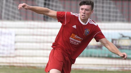 Defender Beckham Kennelly has joined St Ives Town from Wisbech Town. Picture: IAN CARTER