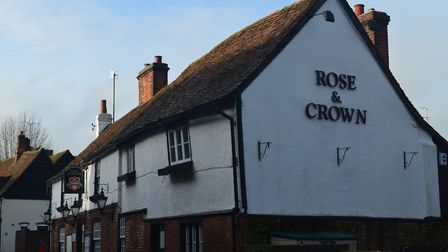 The Rose & Crown, St Michael's Street. Picture: Jake Carter