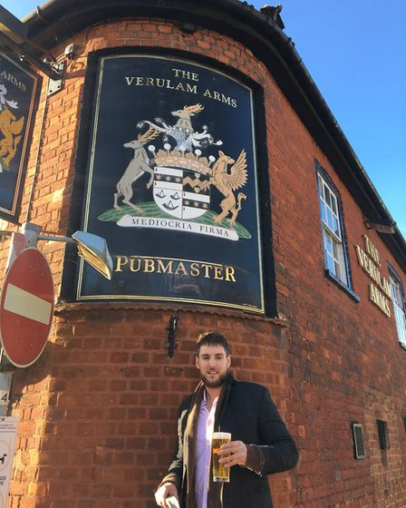 The former Verulam Arms, St Albans, is opening as The Rabbit Hole next month. Picture: Supplied
