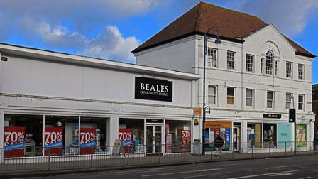 Beales Department Store, in St Neots. Picture: ARCHANT.