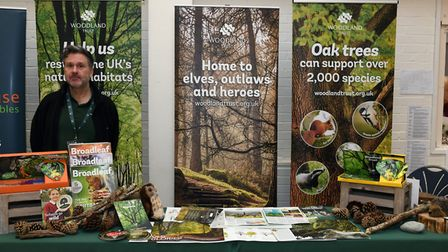 Peter Sutton from the Woodland Trust