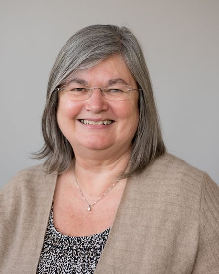 Cllr Mary Maynard, leader of St Albans district council's Conservative group. Picture: St Albans dis