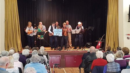 The Ol' Packers Ukelele Band will perform at the 'Frolics in February' concert for Redbourn's senior