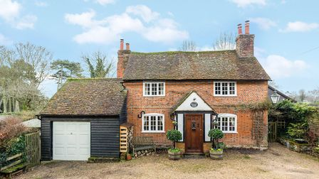 Old Plough Cottage, Lower Gustard Wood, Wheathampstead. Picture: John Curtis